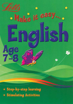 English : Letts Make It Easy - Age 7-8
