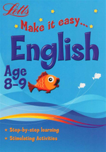 English  : Letts Make It Easy - Age 8-9