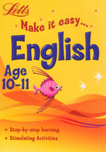 English : Letts Make It Easy - Age 10-11