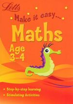 Maths : Letts Make It Easy - Age 3-4