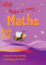 Letts Make It Easy Maths : Age 5 - 6
