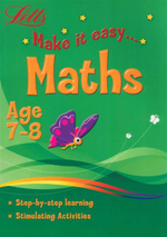 Maths : Letts Make It Easy - Age 7-8