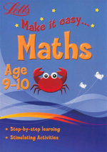 Maths  : Letts Make It Easy - Age 9-10