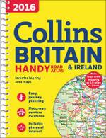 2016 Collins Handy Road Atlas Britain - Collins Maps
