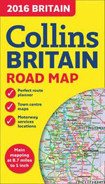 2016 Collins Map of Britain - Collins Maps
