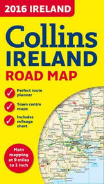 2016 Collins Map of Ireland - Collins Maps