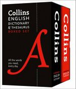 Collins English Paperback Dictionary and Thesaurus Set - Collins Dictionaries