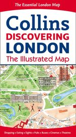 Discovering London Illustrated Map - Collins Maps
