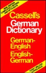 German/English Dictionary Index :  German-English, English-German - Cassell