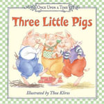 Three Little Pigs Board Book - Thea Kliros