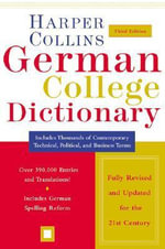 HarperCollins German College Dictionary 3rd Edition - Harperresource