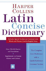 Collins Latin Concise Dictionary - Harper Collins Publishers