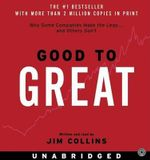 Good to Great : Good to Great - James C Collins