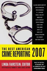 The Best American Crime Reporting : Best American Crime Reporting - Linda Fairstein
