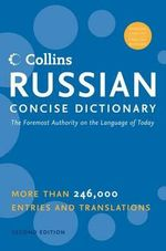 Collins Russian Concise Dictionary, 2e - Marina Hepburn