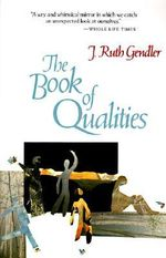 The Book of Qualities - R. Gendler