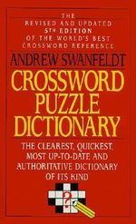 Crossword Puzzle Dictionary - Andrew Swanfeldt
