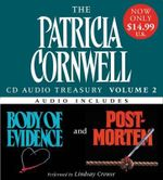 The Patricia Cornwell CD Audio Treasury, Volume 2 : Body of Evidence/Post Mortem - Patricia Cornwell