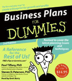 Business Plans for Dummies - Paul Tiffany