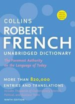 Collins Robert French Unabridged Dictionary, 9th Edition : Collins Reference - HarperCollins Publishers