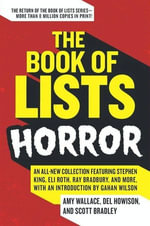 The Book of Lists : Horror - Amy Wallace