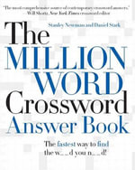 The Million Word Crossword Answer Book - Stanley Newman