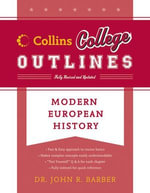 Modern European History : Collins College Outlines - John R. Barber