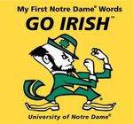 Go Irish : My First Notre Dame Words - Connie McNamara