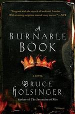 A Burnable Book - Professor Bruce W Holsinger