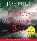 Heart-Shaped Box : Heart-Shaped Box Low Price CD - Joe Hill