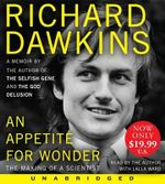 An Appetite for Wonder Low Price CD : The Making of a Scientist - Charles Simonyi Chair of Public Understanding of Science Richard Dawkins