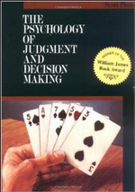 Psychology of Judgment and Decision Making : McGraw-Hill Series in Social Psychology - Scott Plous