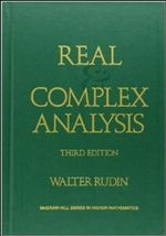 Real and Complex Analysis - Walter Rudin