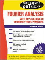Schaum's Outline of Fourier Analysis with Applications to Boundary Value Problems : Schaum's Outlines - Murray R. Spiegel