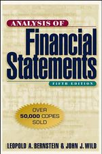 Analysis of Financial Statements - Leopold A. Bernstein
