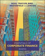 Essentials of Corporate Finance : 3rd Edition - Stephen Ross