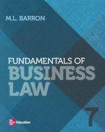 Fundamentals of Business Law - Margaret Barron
