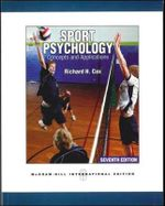 Sport Psychology : Concepts and Applications - Richard H. Cox