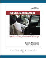 Service Management - James A. Fitzsimmons