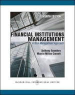 Financial Institutions Management : a Risk Management Approach - Anthony Saunders