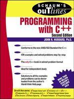 Schaum's Outline of Programming with C++ : Schaum's Outline Series - John R. Hubbard