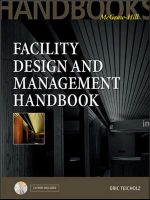 Facility Design and Management Handbook - Eric Teicholz
