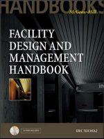 Facility Design and Management Handbook - Eric Teicholz