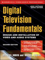 Digital Television Fundamentals : Design and Installation of Video and Audio Systems - Michael Robin