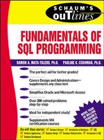 Schaum's Outline of Fundamentals of SQL Programming : Schaum's Outlines - Ramon A. Mata-Toledo