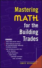 Mastering Math for the Building Trades - James Gerhart