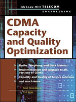 CDMA Capacity and Quality Optimization - Adam Rosenberg