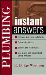 Plumbing Instant Answers - R. Woodson