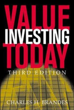 Value Investing Today - Charles H. Brandes