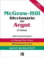 McGraw-Hill Diccionario del Argot - Delfin Basset